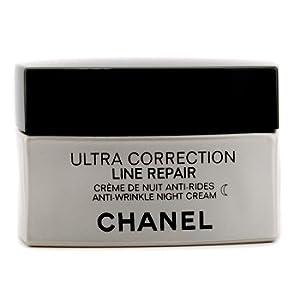 cha nel Night Care, 50ml/1.7oz Precision Ultra Correction Line Repair Anti Wrinkle Night Cream for Women