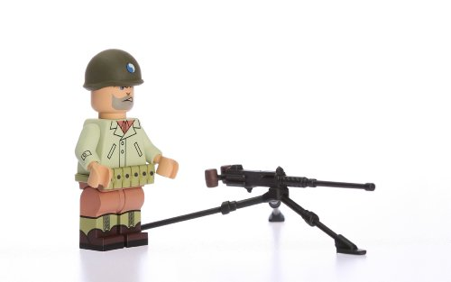 Buy Low Price Blockhead WWII US 29th Infantry Soldier Highly Detailed Custom Building Figure (B004GWKO1I)