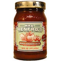 Mrs. Renfro's Mango Habanero Salsa Medium Hot -- 16 oz by Mrs. Renfro's