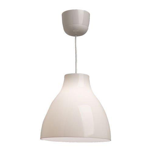 IKEA-Hngelampe-MELODI-Hngeleuchte-Deckenlampe-WEISS