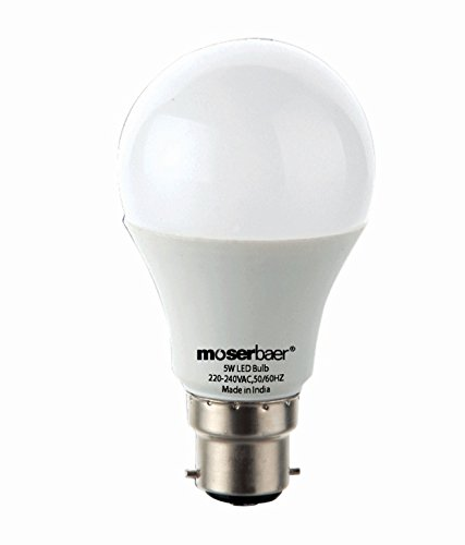 Moserbaer-5W-B22-Ceramic-LED-Bulb-(Cool-Day-Light)