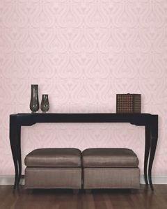 Fine Decor Arabella Wallpaper - Pink from New A-Brend