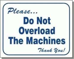 of not of machine