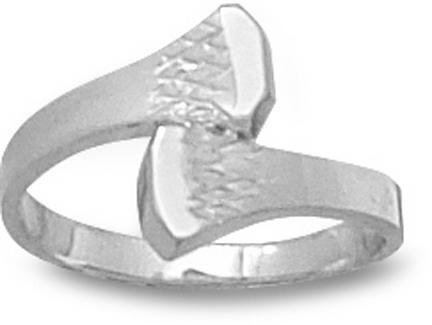 Double Nail Ladies' Ring Size 7 3/4 - Sterling Silver Jewelry