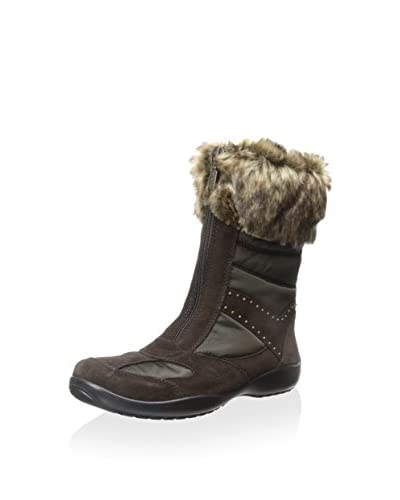 Geox Women's D Arabelle B ABX Snow Boot W/ Faux Fur