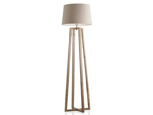 BRANDANI LAMPADA TERRA PIANTANA SQUARE PARALUME BIANCO LEGNO ROVERE SHABBY 55693