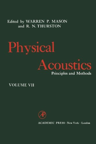 Physical Acoustics, Volume Vii: Principles And Methods front-579178