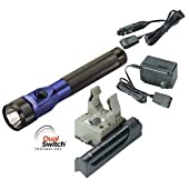 Streamlight Blue LED DS Piggyback Stinger AC/DC Kit
