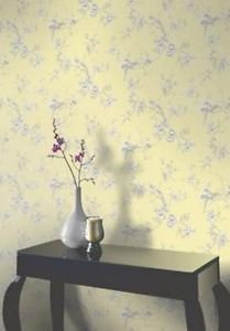 Opera Chinoise Wallpaper - Yellow from New A-Brend