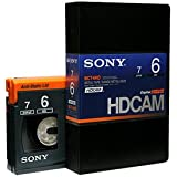SONY  BCT-6HD  HDCAMテープ  スモールカセット  6分  1本