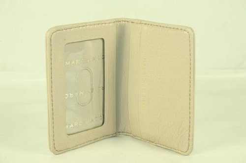 Marc By Marc Jacobs Marc Jacobs Folding Credit Card Holder in Papyrus