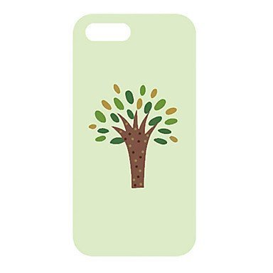 Cartoon Tree Phone Case [Customizable by Buyers] [Create Your Own Phone Case] Slim Fitted Hard Protector Cover for iPhone 4 4s