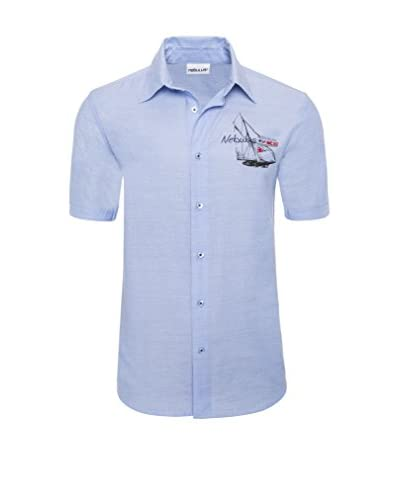 Nebulus Camisa Hombre Zadar Azul Claro