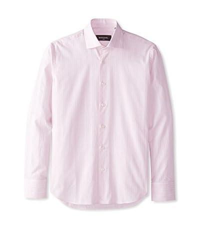 Bogosse Men's Stripe Jacquard Sportshirt