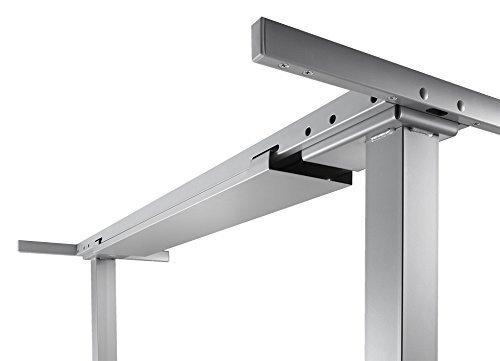 Elektrisch-hhenverstellbares-Tischgestell-stufenlos-fr-Tisch-mit-Winkelform-90-200x120-cm-Arbeitshhe-625-1275-cm-4-Speicherpltze-Sanftanlauf-Sanft-Stopp-mit-Kollisionsschutz-silber