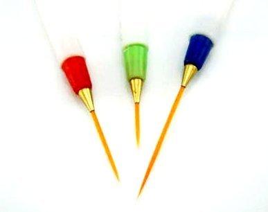Nailart Brushes, Set of 3
