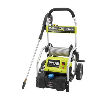 Factory-Reconditioned Ryobi ZRRY141900 2,000 PSI 1.2 GPM Electric Pressure Washer