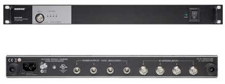 Shure Pa421A Four Port Antenna Combiner For Psm Series (470-952 Mhz)