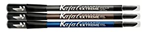 Vasanti Kajal Extreme - Intense Eyeliner Pencil with Built in Sharpener and Smudger (Waterproof, Paraben Free) by Vasanti Cosmetics