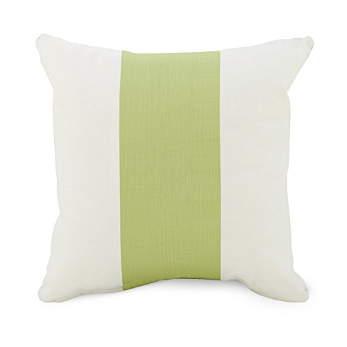 Oilo Studios Spring Green Band 18x18 Pillow - 1