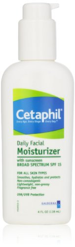 Cetaphil Fragrance Free Daily Facial Moisturizer, SPF 15