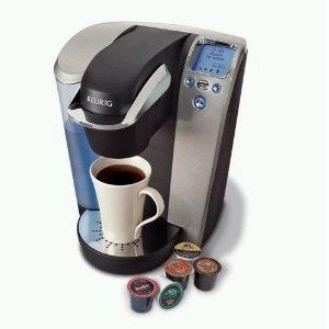 Keurig B70 Platinum Gourmet Single-Cup K-Cup Brewer Midnight Black