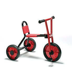 Children's Factory CF930-531 Locomotion Medium Tricycle, Red/Black