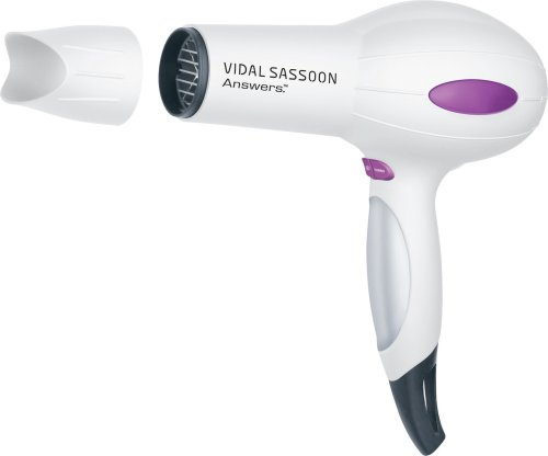 Vidal Sassoon VSDR5503 1875W Answers Turbo Dryer for Coarse