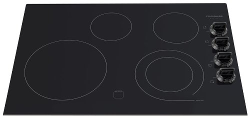 """Frigidaire Fgec3045Kb 30"""" Smoothtop Electric Cooktop With Express-Select Controls And Hot Surface Indi, Black"""