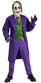 Batman Dark Knight: Joker Deluxe Halloween Costume + Bonus (Adult Plus Size)