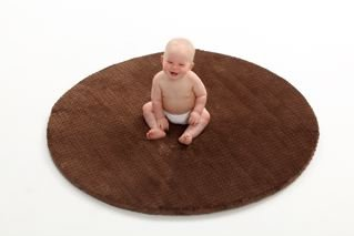 CHOCOLATE DOT CoziCover (For SoftSpot by Wozzy Play Mat)
