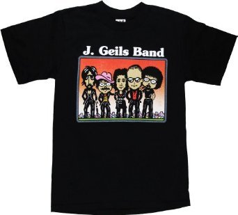 J. Geils Band Boston House Of Blues Men's T-Shirt (Medium)