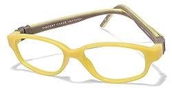 Vincent Chase Flex VC 8029 Yellow Grey C4 Kids' Eyeglasses (Kids 6-10 yrs)