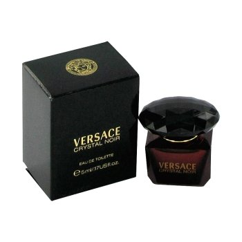 VERSACE CRYSTAL NOIR by Gianni Versace EDT .17 OZ MINI for WOMEN (Versace Perfume Crystal Noir compare prices)