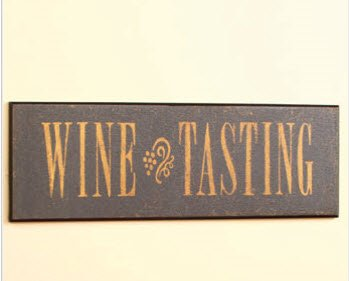 Unique's Shop Wine Tasting Decorative Bar Sign at Sears.com