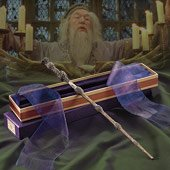 Dumbledore's Wand with Ollivanders Box