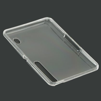 Hard Clear Snap on Crystal Case for the Motorola Xoom Android Tablet Case Cover