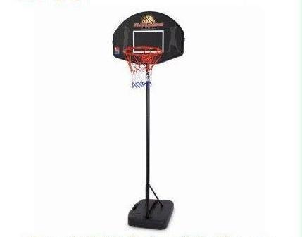 SLAM STARS JUNIOR BASKETBALL SET - ADJUSTABLE RING - BALL & PUMP