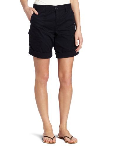 Calvin Klein Jeans Women's Pocket And Seam Detail Short, French Navy, 14