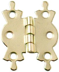 40mm Butterfly Hinge - Electro Brassed (Pack of 4)