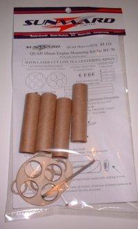 QUAD 18mm to BT70 Rocket Engine Mounting Kit
