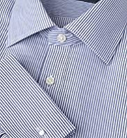 Dri-Guard™ Pure Cotton Slim Fit Bengal Striped Shirt