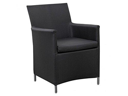 OPIUM Sessel Gartensessel Textilene Schwarz – Ausstellungsstück online bestellen