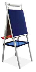 Kids Easel w / Storage by Studio Designs