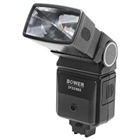 Bower Economical Dedicated Digital Zoom / Bounce / Swivel Shoe Mount Flash