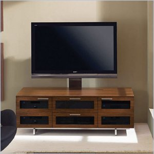 Cheap BDI Avion II Flat Panel Cabinet TV Stand in Chocolate Stained Walnut (8927CW)