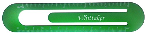 bookmark-ruler-with-engraved-name-whittaker-first-name-surname-nickname