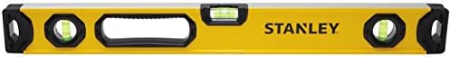 Stanley Tools STHT42496 24-Inch Box Level, Non-Magnetic