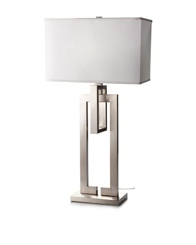 Trend Lighting Precision Table Lamp, Brushed Nickel