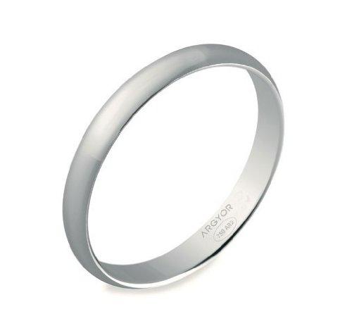Wedding Band - White Gold 18k